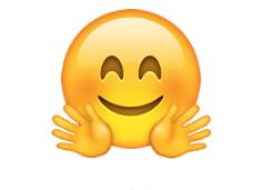 Hugging face - emoji meanings