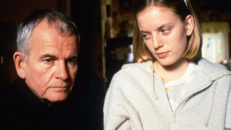 Ian Holm and Sarah Polley in The Sweet Hereafter