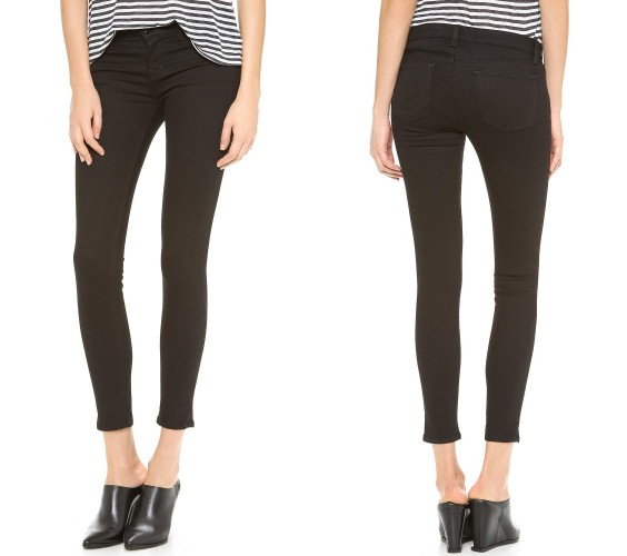 J Brand low-rise skinny jeans - lightweight jeans