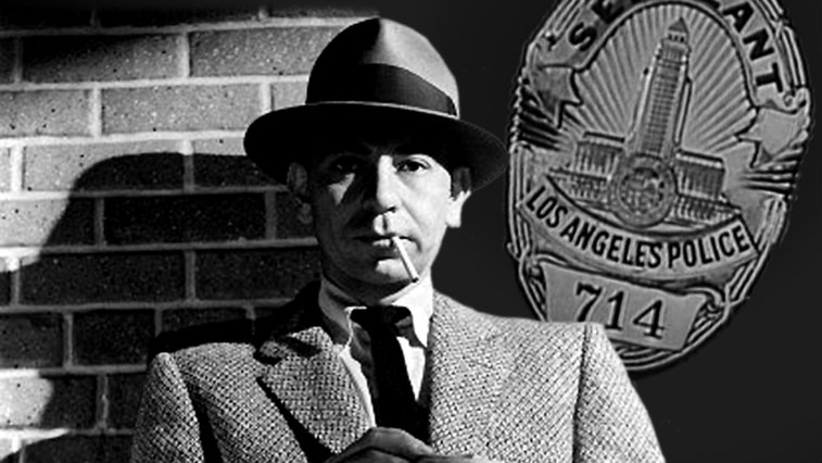 Jack Webb in Dragnet, 1950s TV