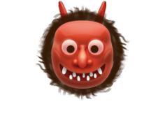 Japanese Ogre - emoji meanings