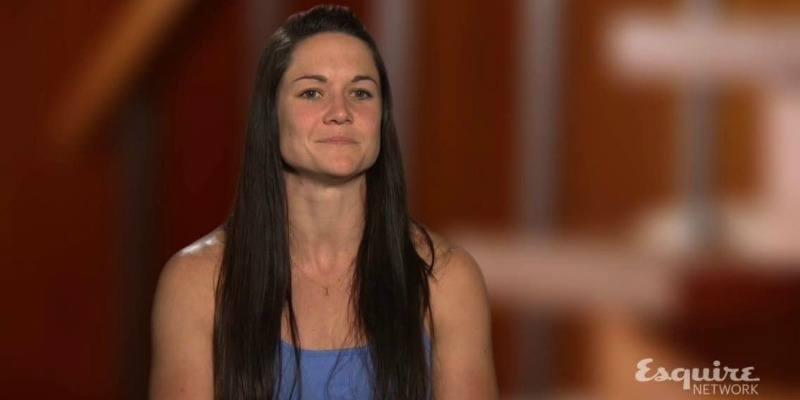 Jessica Labreck on American Ninja Warrior