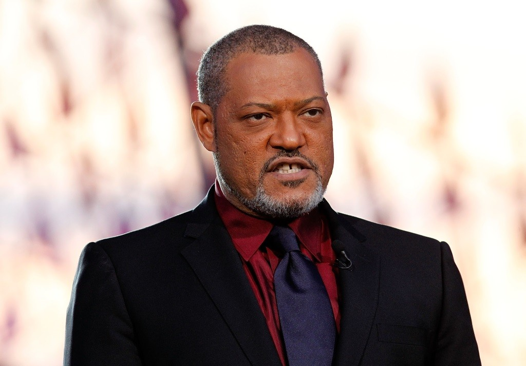 Laurence Fishburne in a suit