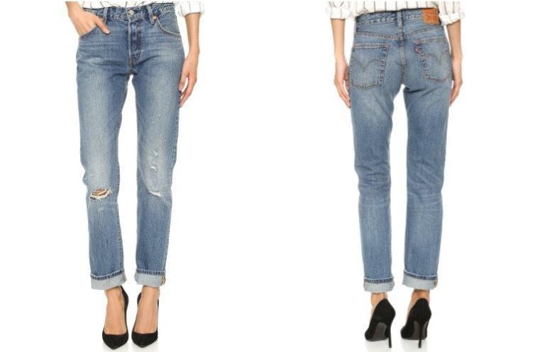 Levi's 501 jeans - summer basics under $100