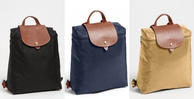 Longchamp Le Pliage backpack - designer handbags under $200
