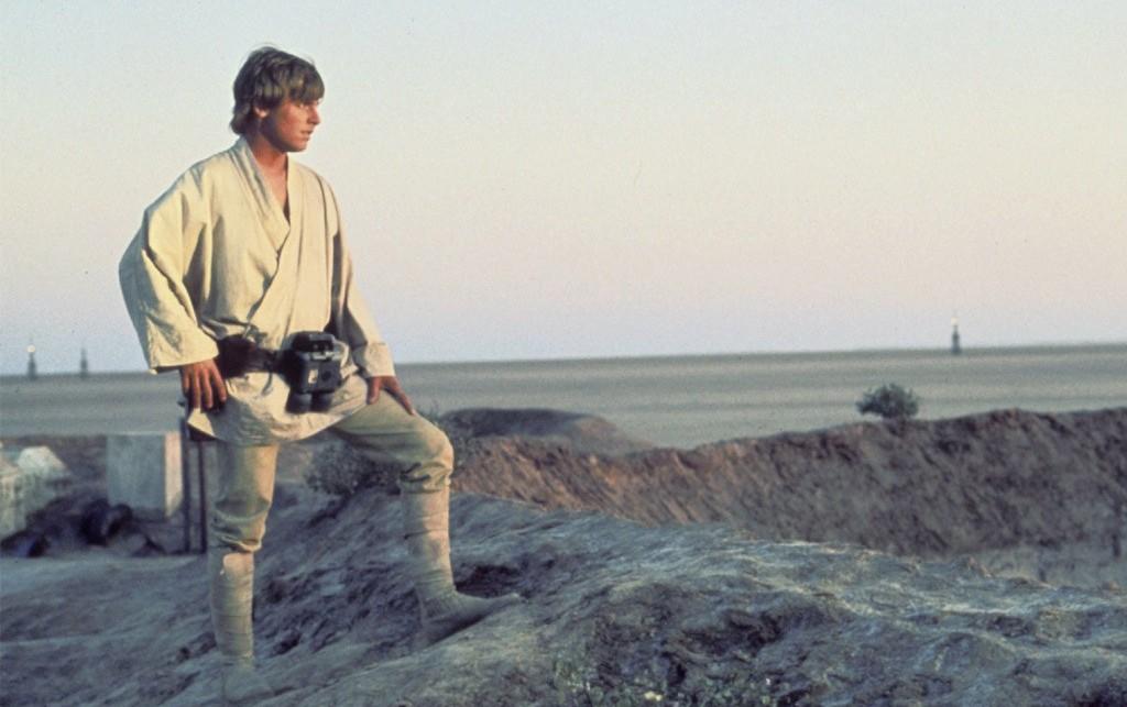Luke Skywalker in Star Wars