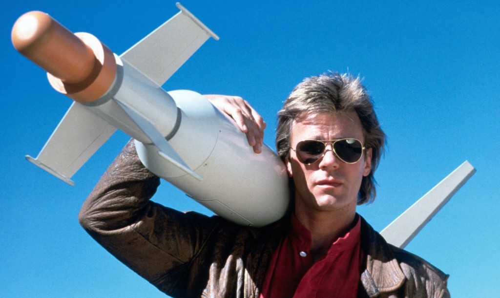 MacGyver being cool