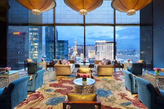 The Mandarin Oriental's Las Vegas Tea Lounge