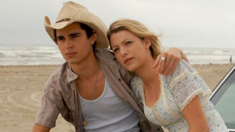 Max Minghella and Blake Lively in Elvis and Anabelle