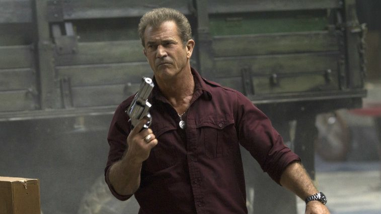 Mel Gibson in The Expendables 3