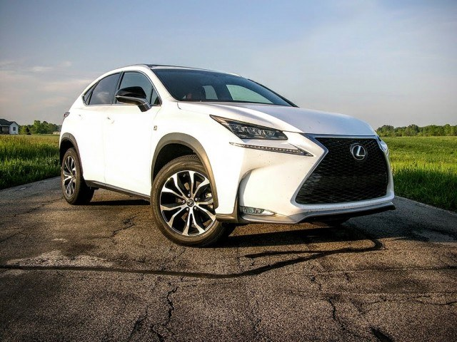 2016 Lexus NX turbocharged crossover