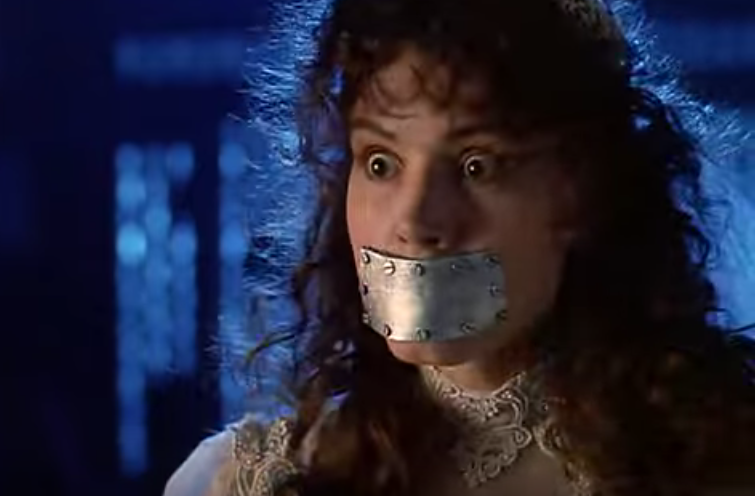 A shut mouth