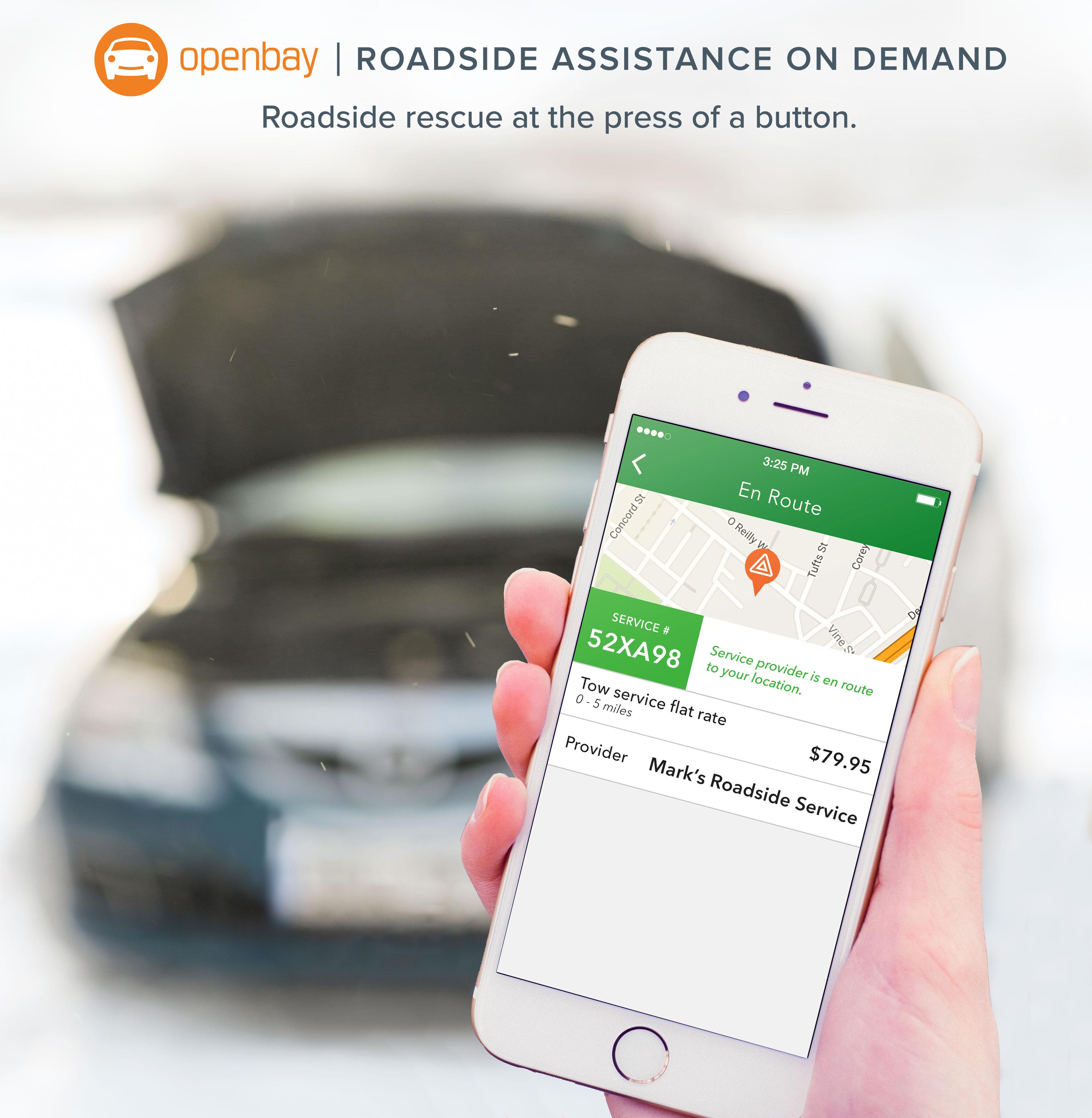 Openbay Roadside Assistance, roadside rescue