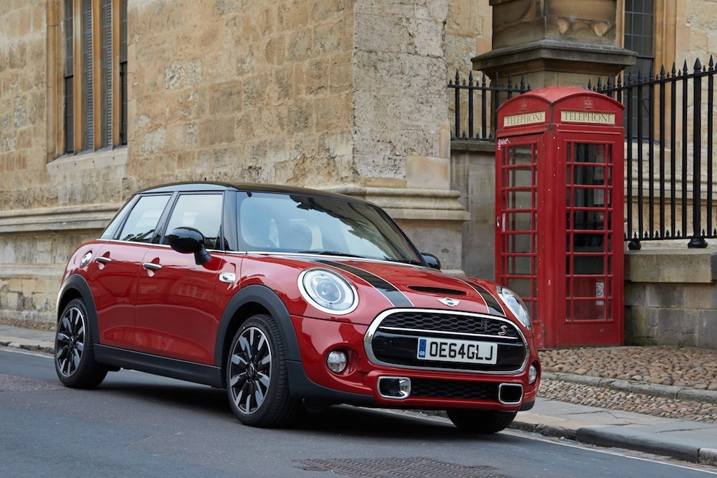 Crashing Through The English Countryside In A Mini Cooper S