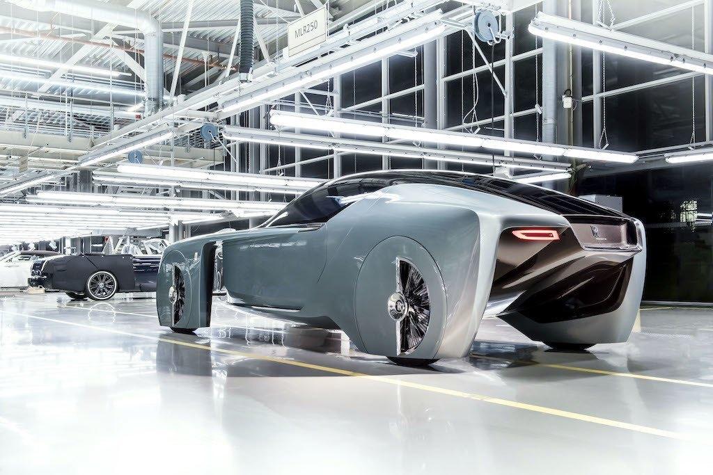 Rolls-Royce EX103 Vision Next 100 concept