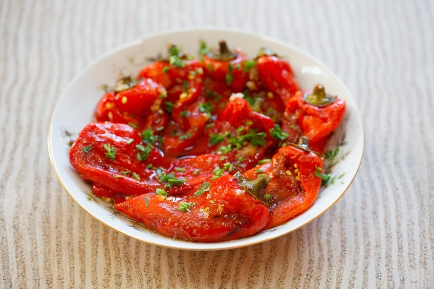 Paprika roasted bell peppers