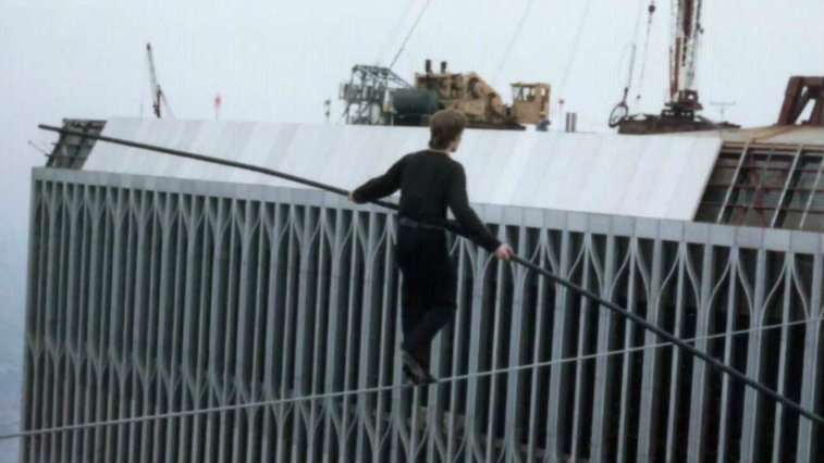 Philippe Petit in Man on Wire