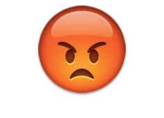 Pouting face - emoji meanings