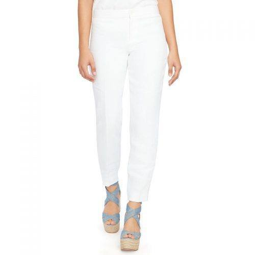 Ralph Lauren straight-fit linen pants