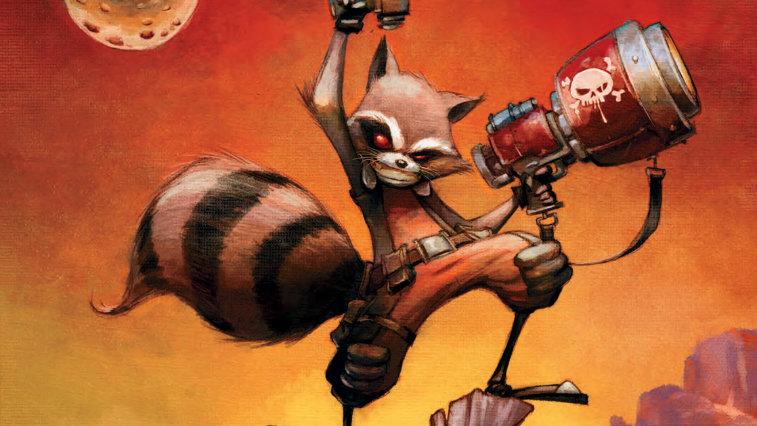 Rocket Raccoon in Marvel Comics