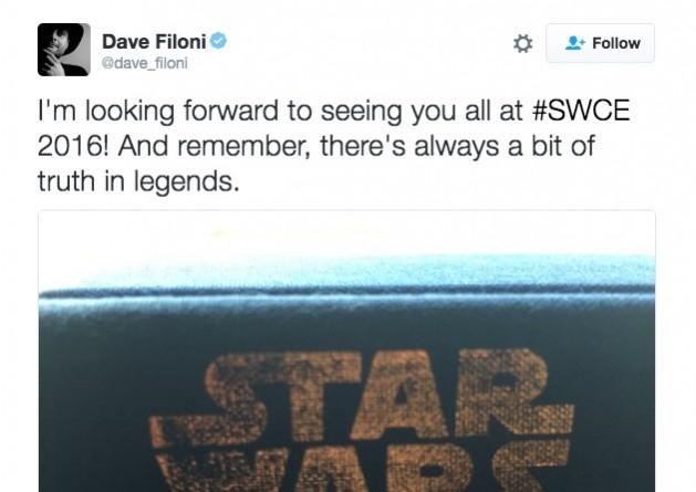 Star Wars Rebels showrunner Dave Filoni tweets about Legends