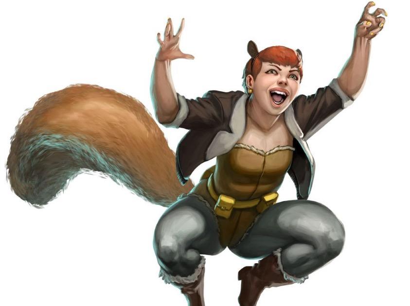 Squirrel Girl - Marvel Comics superheroes