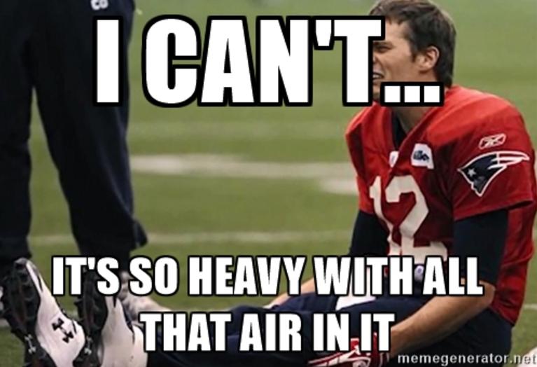 Tom Brady crying