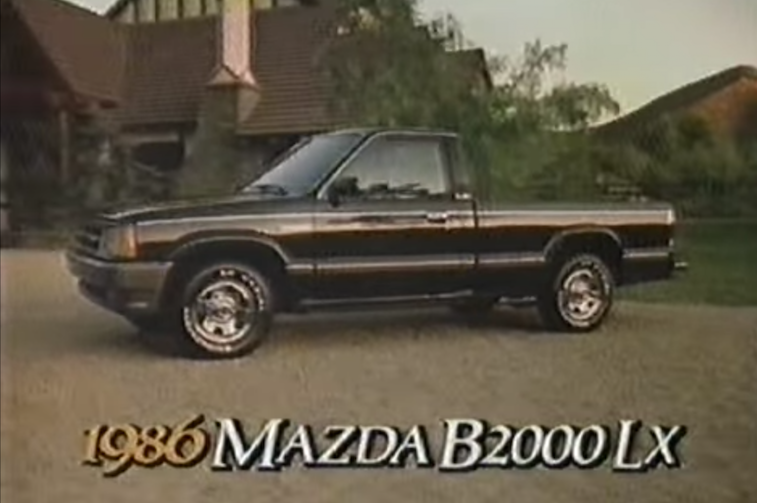 Mazda B2000 LX