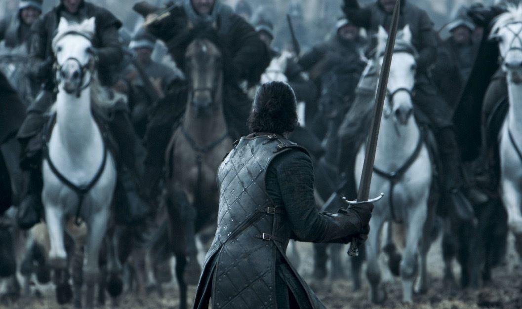 Jon Snow - Battle of the Bastards, Game of Thrones