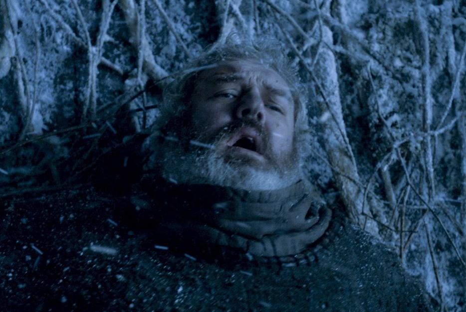 Hodor's final moments in Season 6