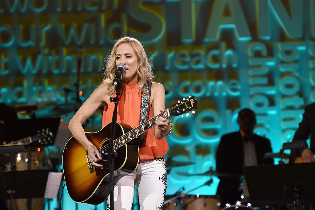 Sheryl Crow performs onstage