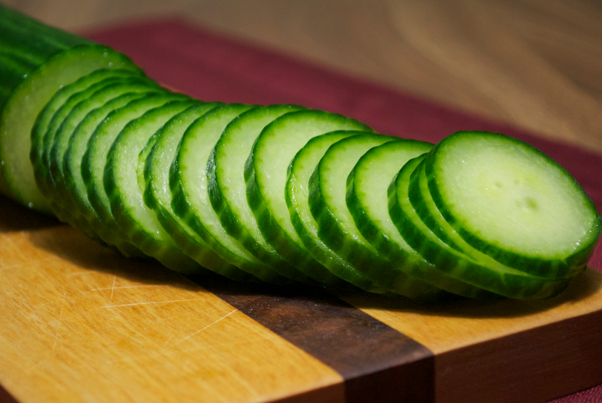 Sliced Cucumber