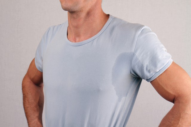 How to remove 4 types of terrible clothing stains for How to keep your armpits from sweating through your shirt