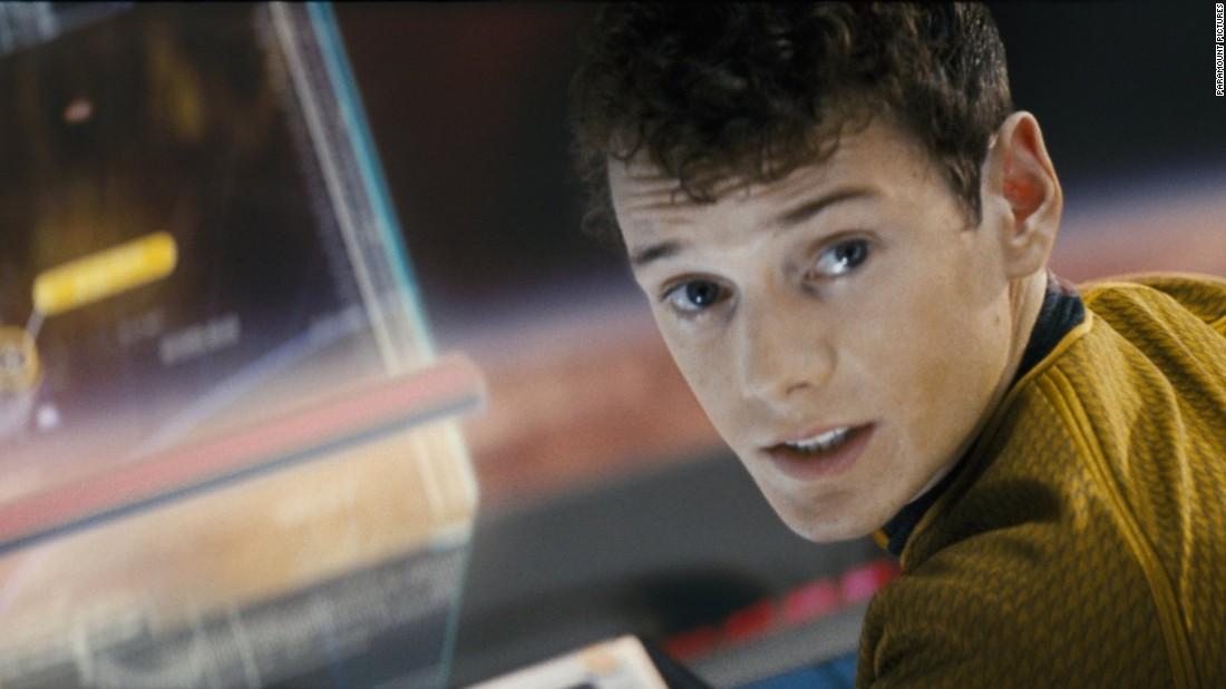 Anton Yelchin in 'Star Trek'