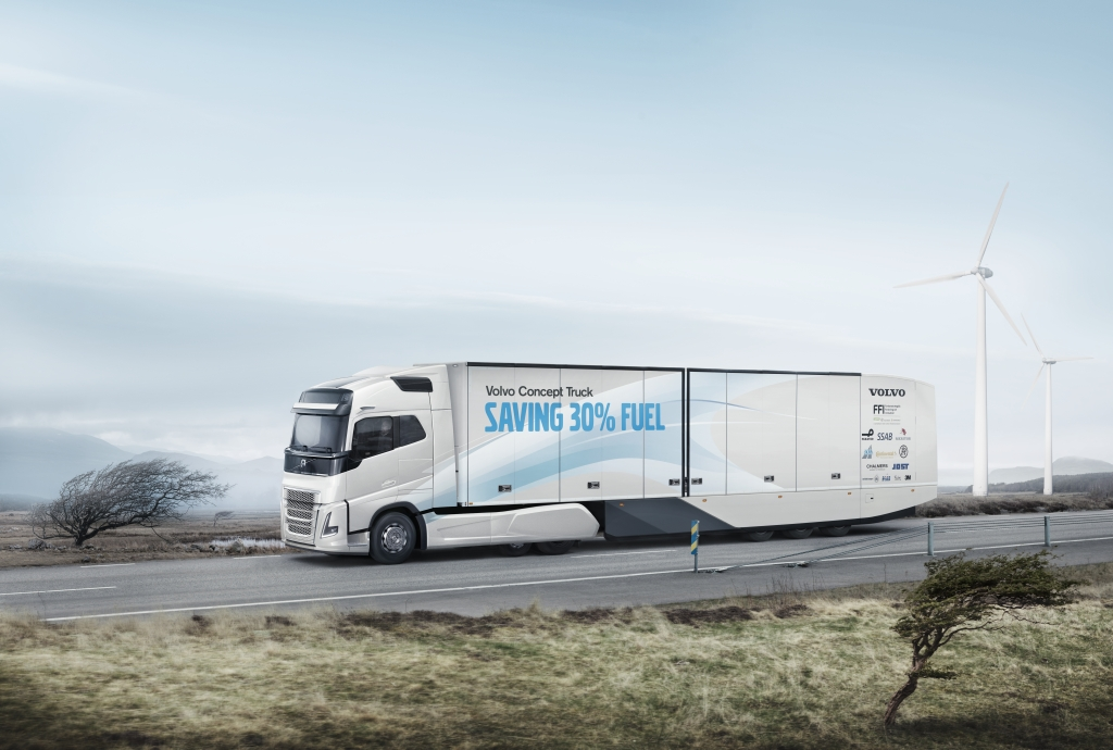 Volvo concept long-haul truck, electric semi trucks