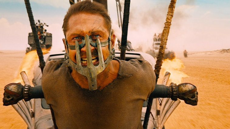 Tom Hardy in Mad Max Fury Road