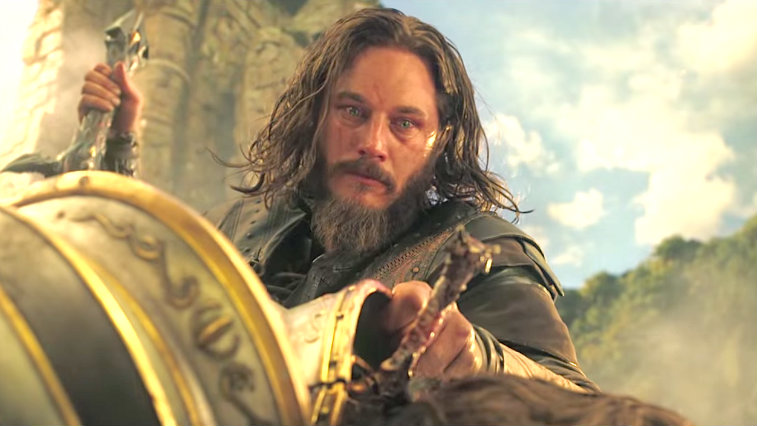 Travis Fimmel in Warcraft