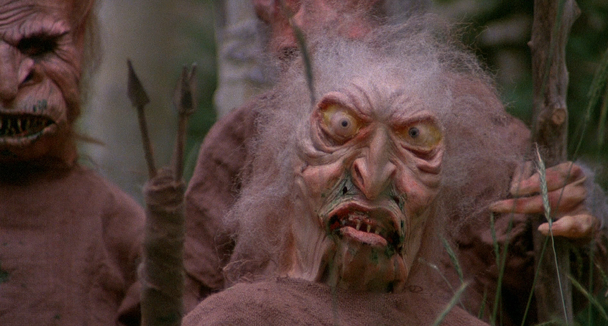 A screen capture from the B movie Troll 2
