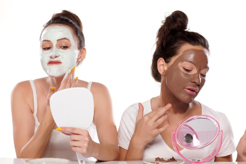 Applying face masks