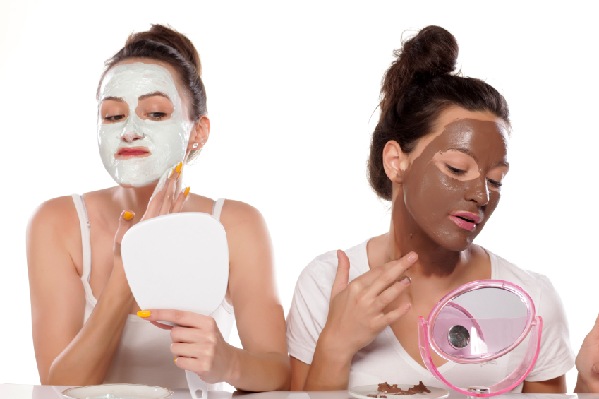 Applying face masks