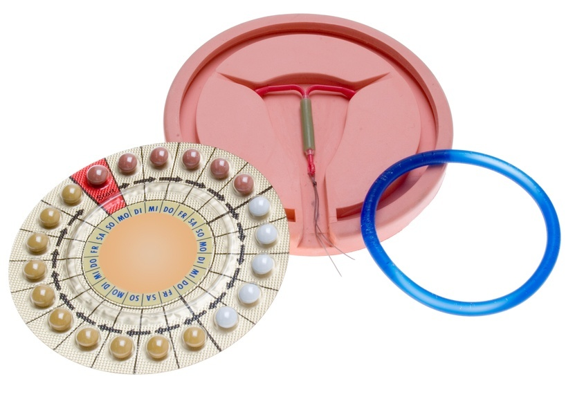 three types of birth control