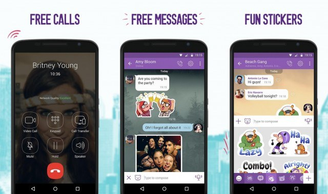 Viber - messaging apps for Android and iOS
