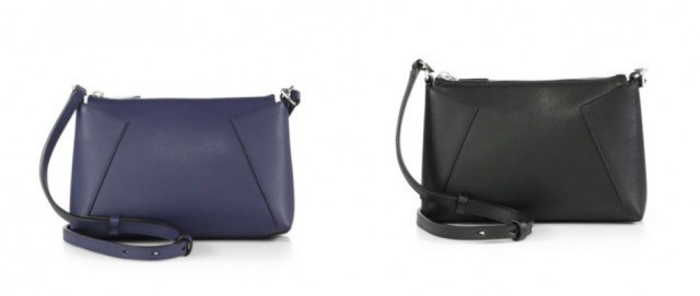 Vince leather cross-body - designer handbags under $200