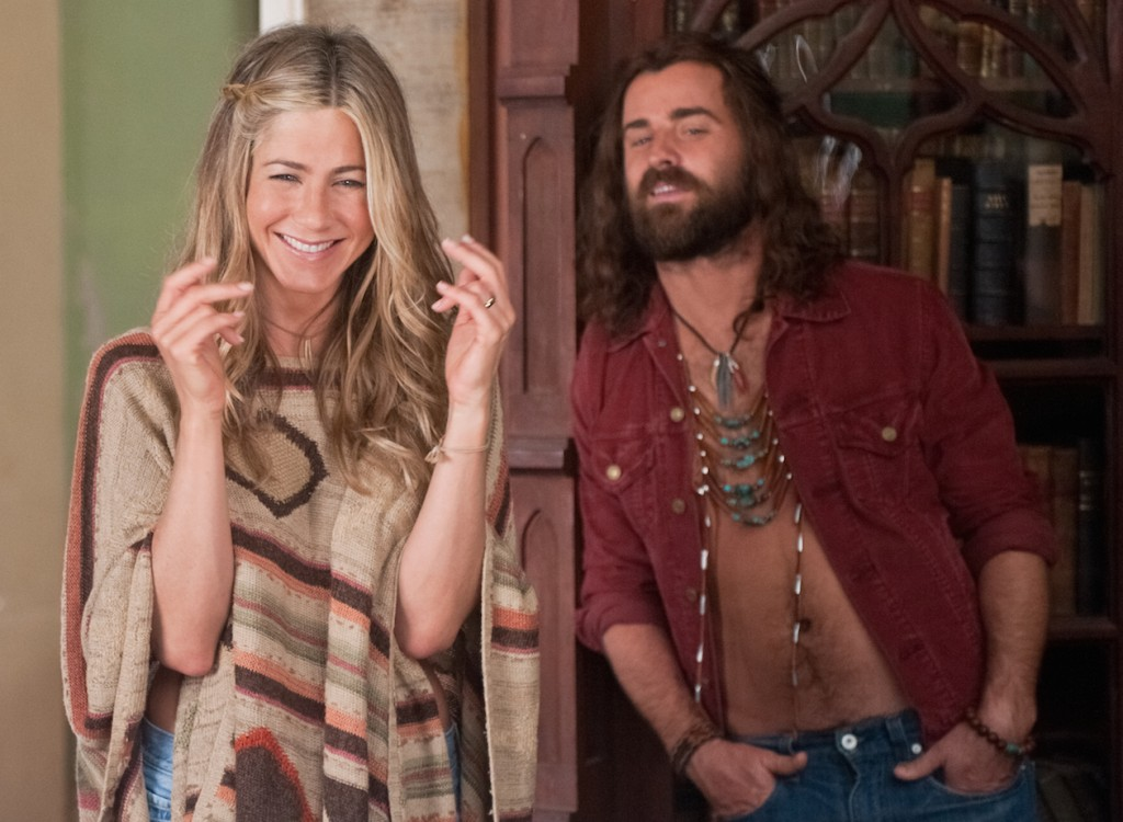 Jennifer Aniston and Justin Theroux in Wanderlust
