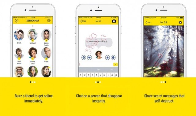 ZeeroChat - messaging apps for Android and iOS