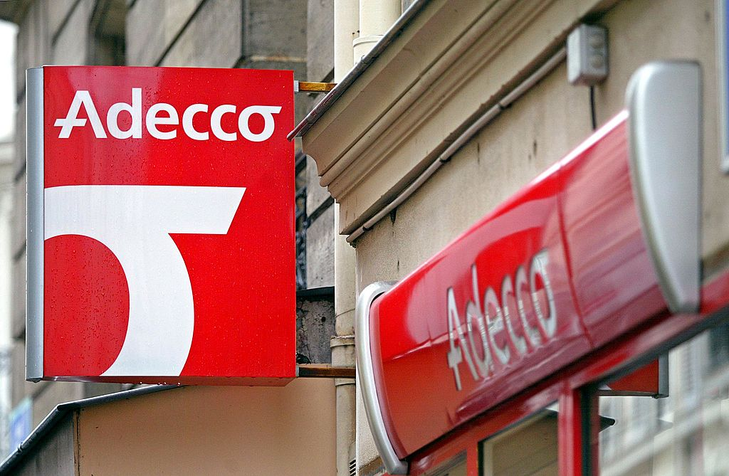 sign for adecco