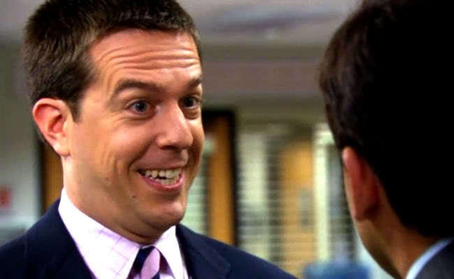 "Andy Bernard, professional ""yes man"" on 'The Office'"