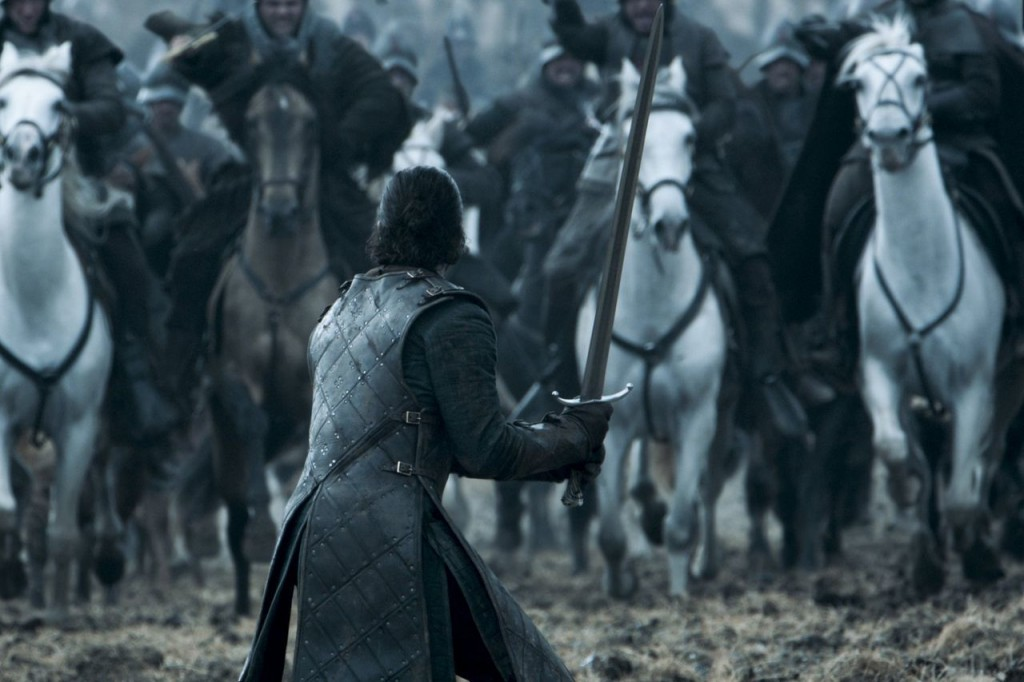 Battle of the Bastards on Game of Thrones