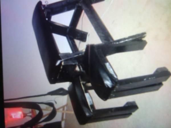 Actual photo of the bondage bench