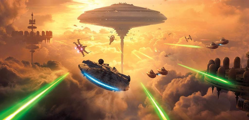 Star Wars Battlefront - Bespin DLC Key Art